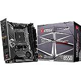 MSI MPG B550I Gaming Edge WiFi Gaming Motherboard (AMD AM4, DDR4, PCIe 4.0, SATA 6Gb/s, M.2, USB 3.2 Gen 2, AX Wi-Fi 6…