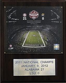 product image for NCAA Football Alabama 2011 Football Champions Plaque