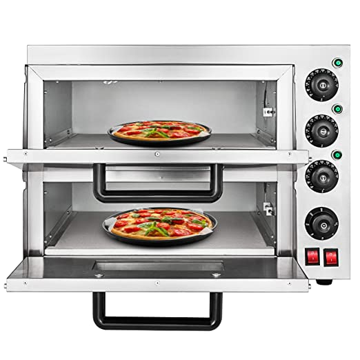 oldfe 2.2KW Horno Pizza Eléctrico Profesional 350 °C y Horno para ...