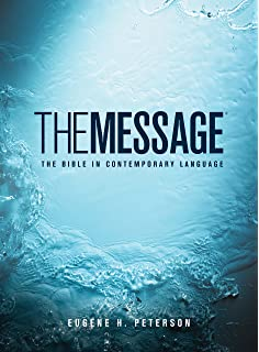 The Message Ministry Edition (Softcover, Green): The Bible in