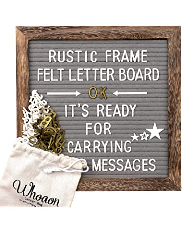 Changeable Letter Boards | Amazon com | Office & School