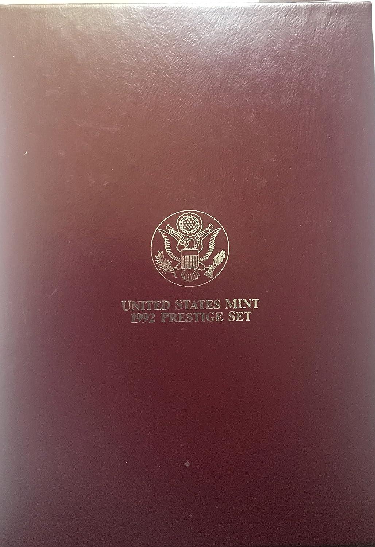 1992 S U.S Mint Prestige Set Cameo Proof