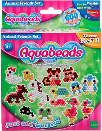 Aqua Beads-79298 Animal Friends Set, (Epoch 79298)
