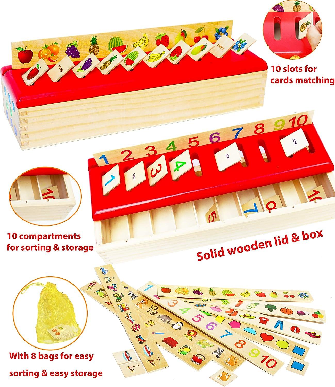 Juego educativo de madera