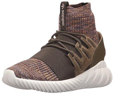 finest selection 6ef41 dd345 adidas Originals Men s Tubular Doom PK Running Shoe, Trace Olive Mystery  Brown Crystal