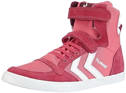 Hummel Hummel Sl Stadil Jr Canvas Hi - Zapatillas de deporte para niñas, Honeysuckle 4049, 35: Amazon.es: Zapatos y complementos