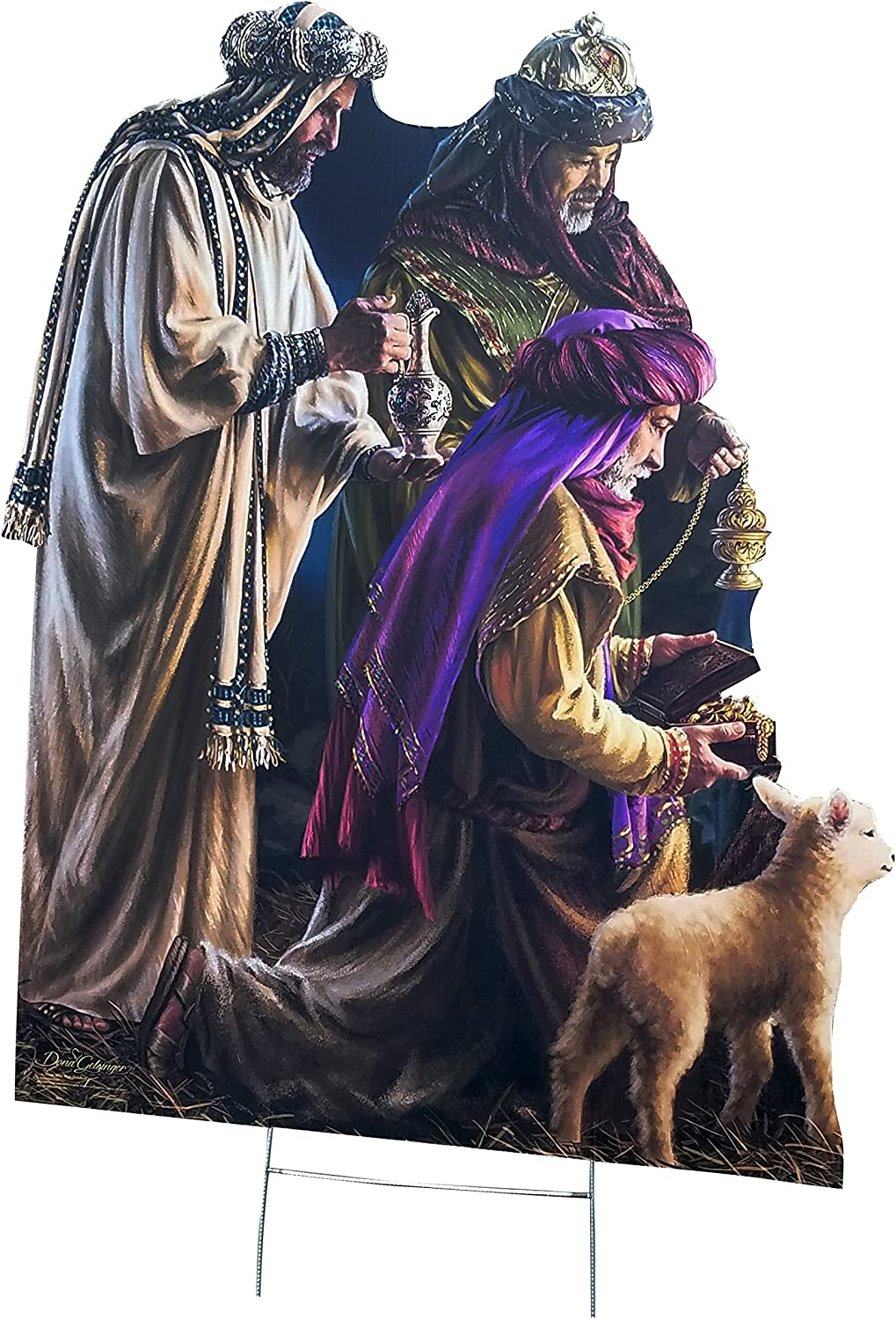 Advanced Graphics Outdoor Life Size... Christmas Nativity Dona Gelsinger