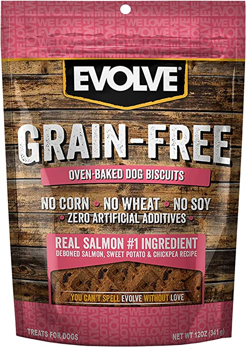 Top 10 Evolve Grain Free Oven Baked Dog Biscuits Salmon