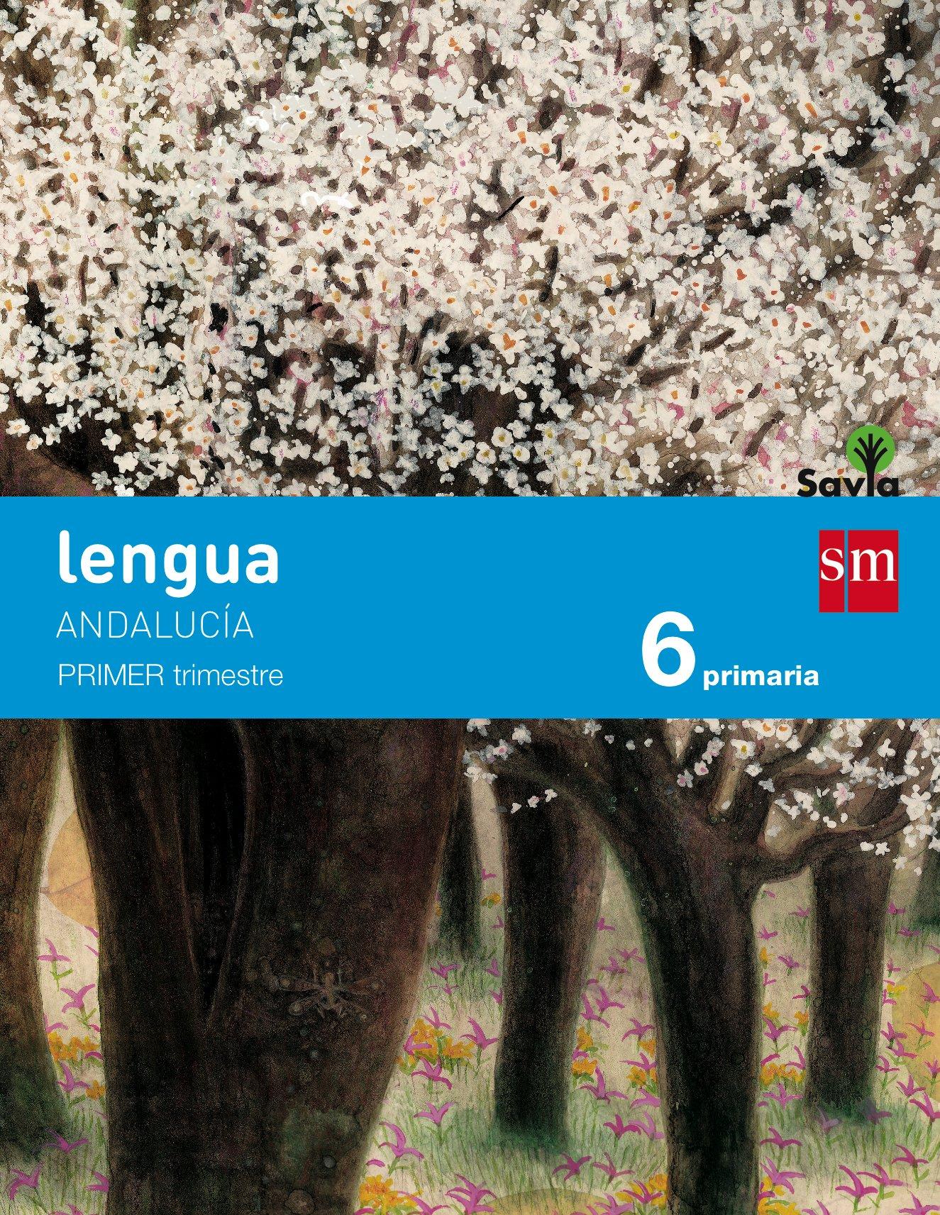Read Online LENGUA 6ºEP TRIMESTRES ANDALUCIA 15 SAVIA SMLEN16EP pdf