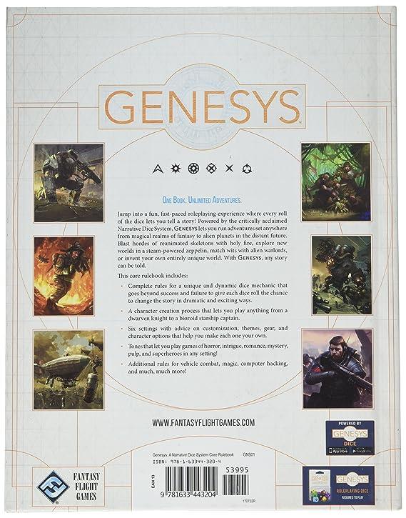 Fantasy Flight Games FFGGNS01 Genesys: A Narrative Dice