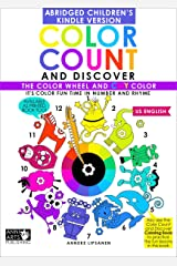 Color Count and Discover: The Color Wheel and CMY Color - US Kids Version