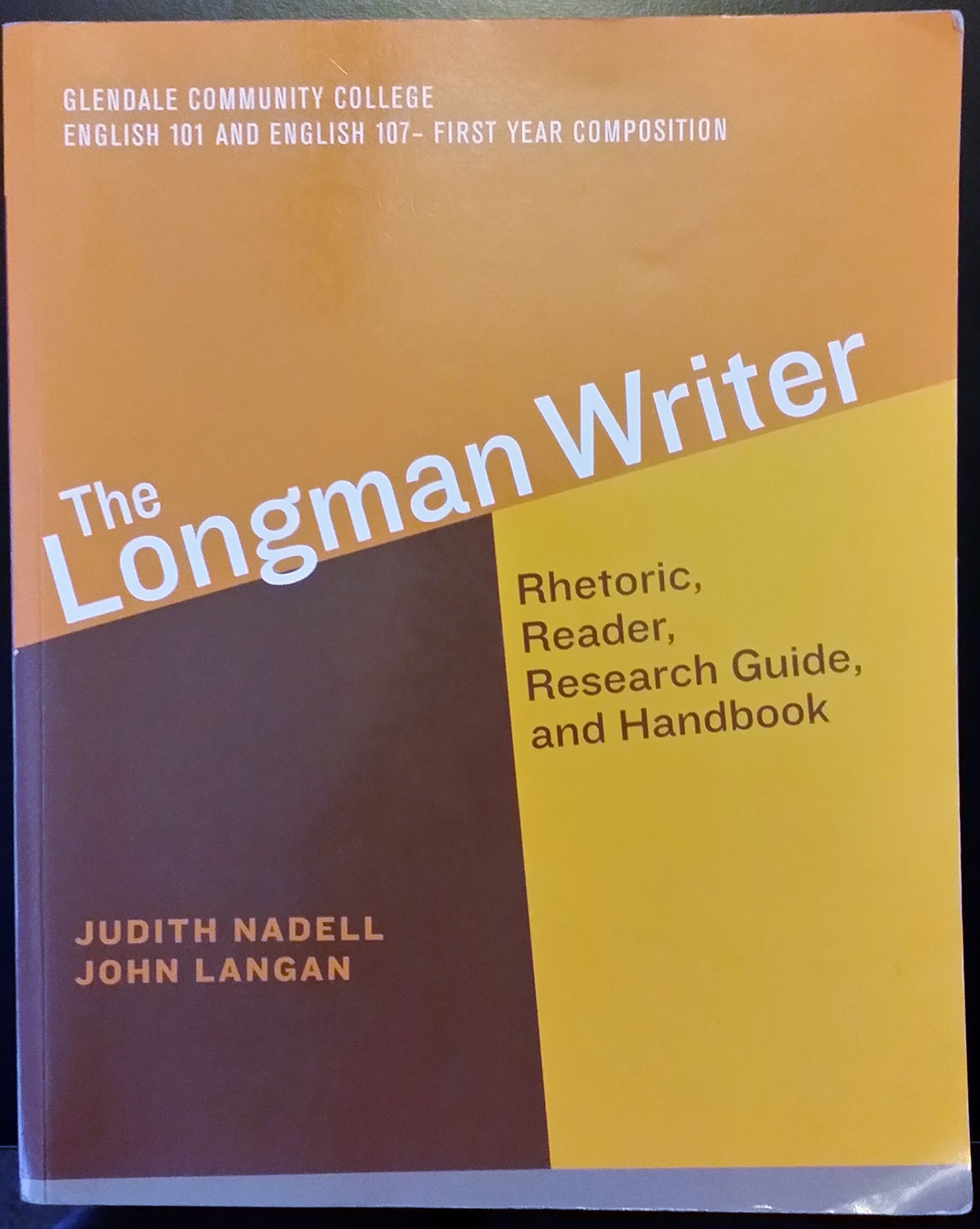 Download The Longman Writer Rhetoric, Reader, Research Guide, and Handbook pdf epub