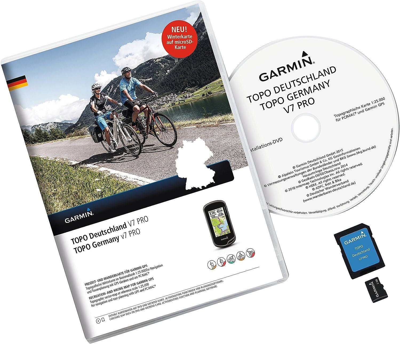 Garmin Topo Deutschland V7 Pro - Software de navegación (Alemania ...