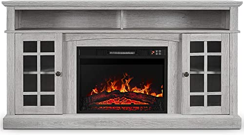 BELLEZE Fireplace TV Stand
