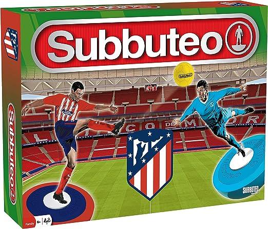 Subbuteo Playset Atlético de Madrid 2ª Edición: Amazon.es ...