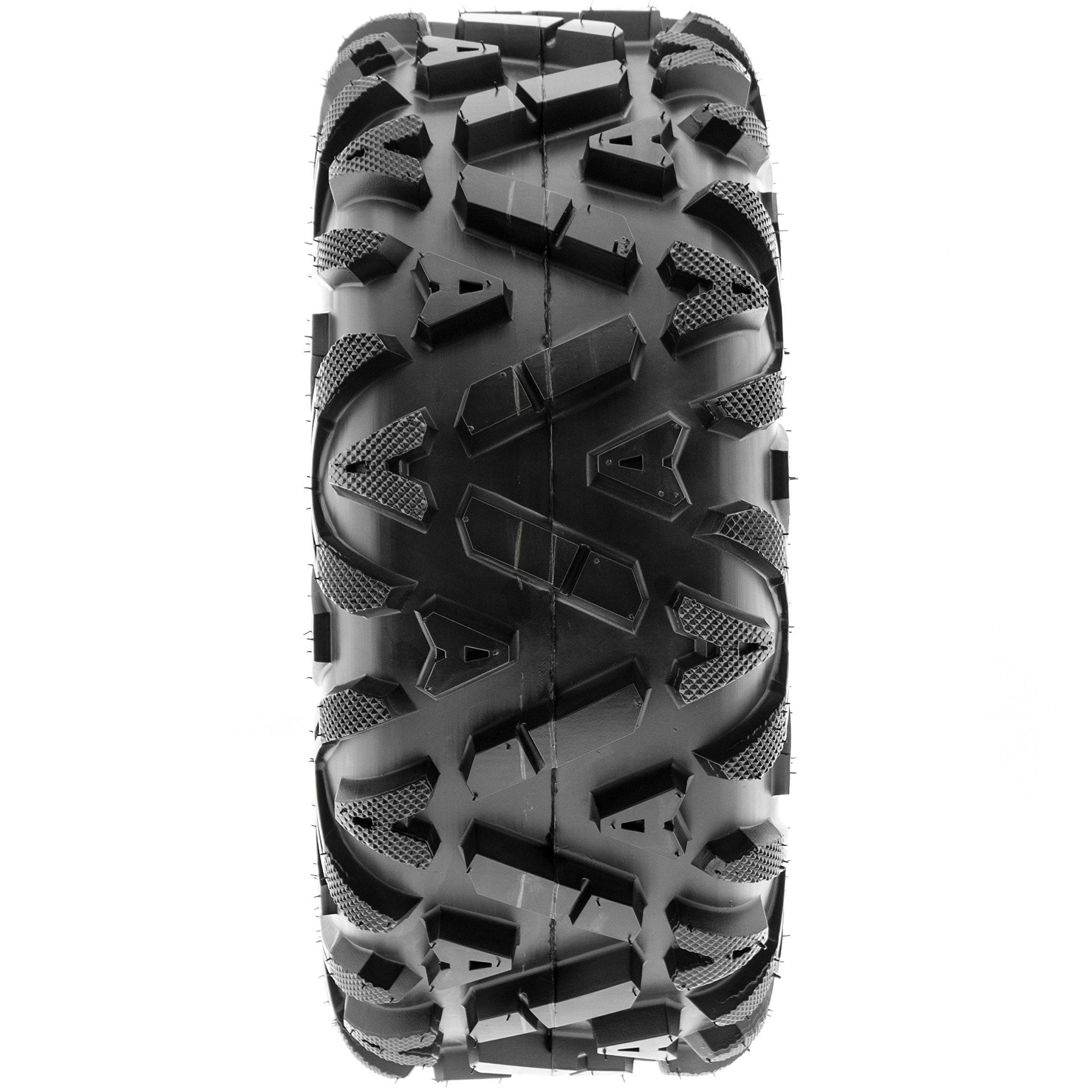 Pair of 2 SunF A033 Power.I AT 25x10-11 ATV UTV Off-Road Tires, All-Terrain, 6 PR, Tubeless by SUNF (Image #6)