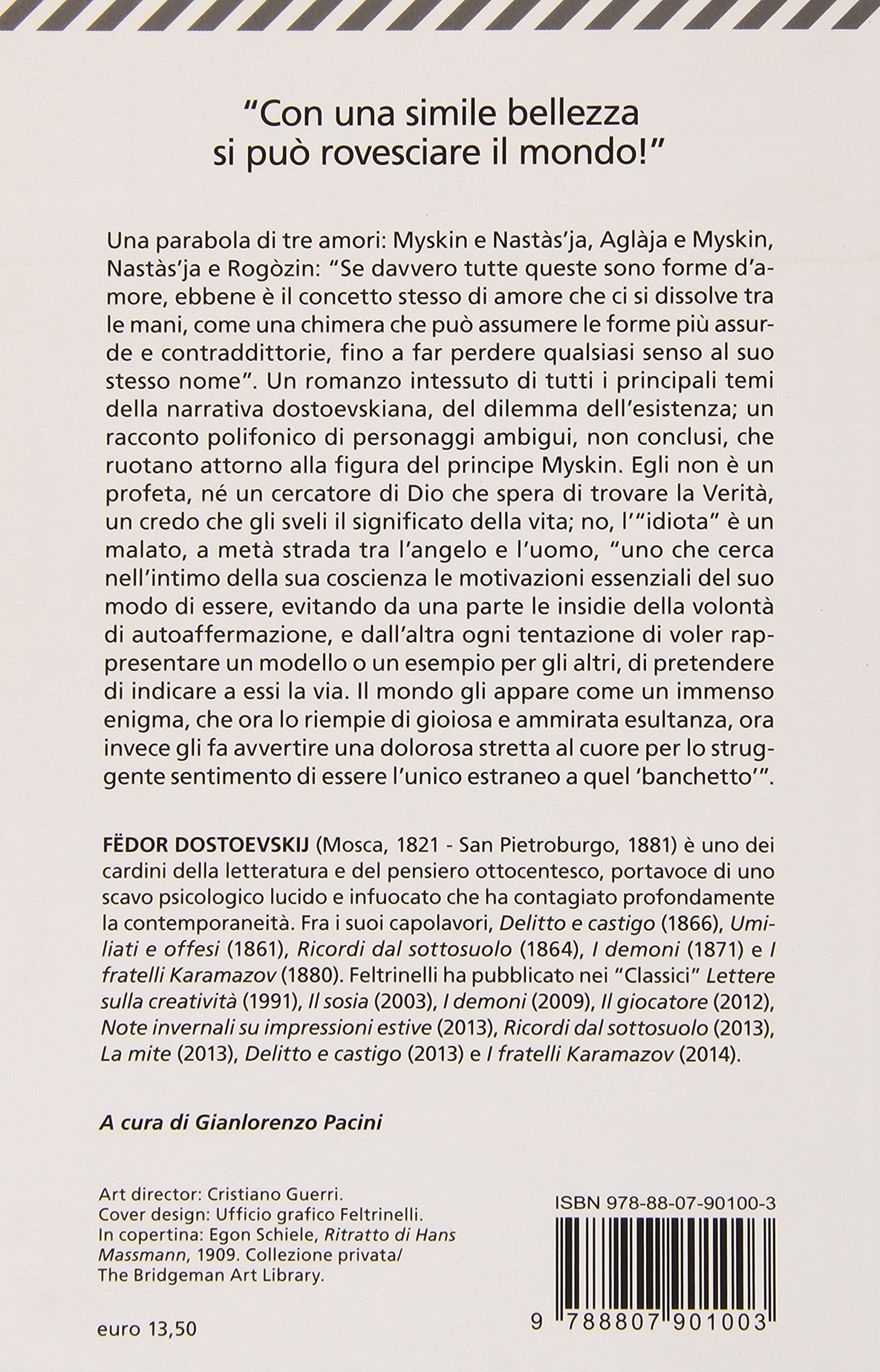 L Idiota Italian Edition Fyodor M Dostoevsky