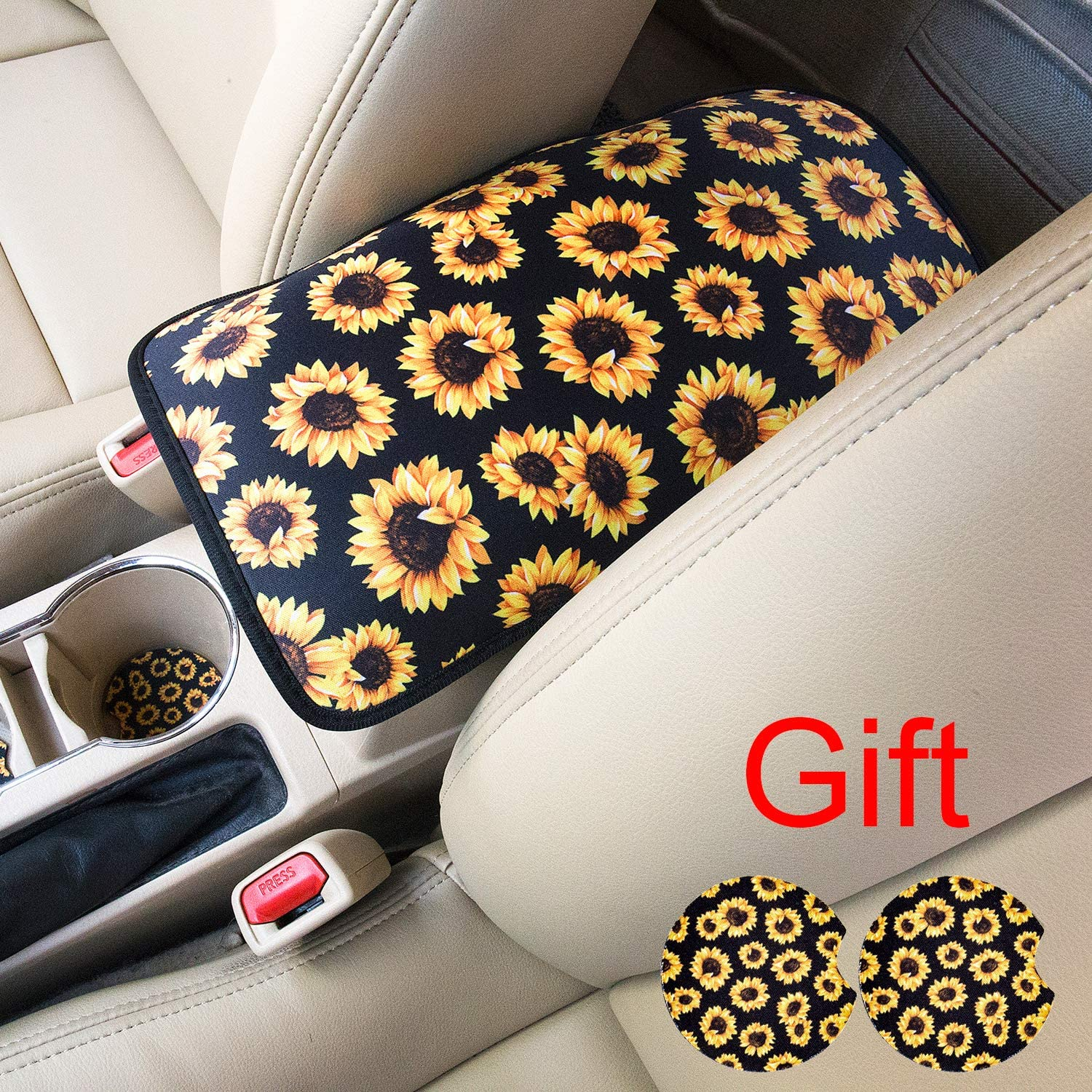 Galaxy Rose Evankin Steering Wheel Cover Cute and Handmade,PU Universal Steering Wheel Cover 15 inch Fashionable Rose Flower Car Accessories for Women,Top Girl Car Accessories
