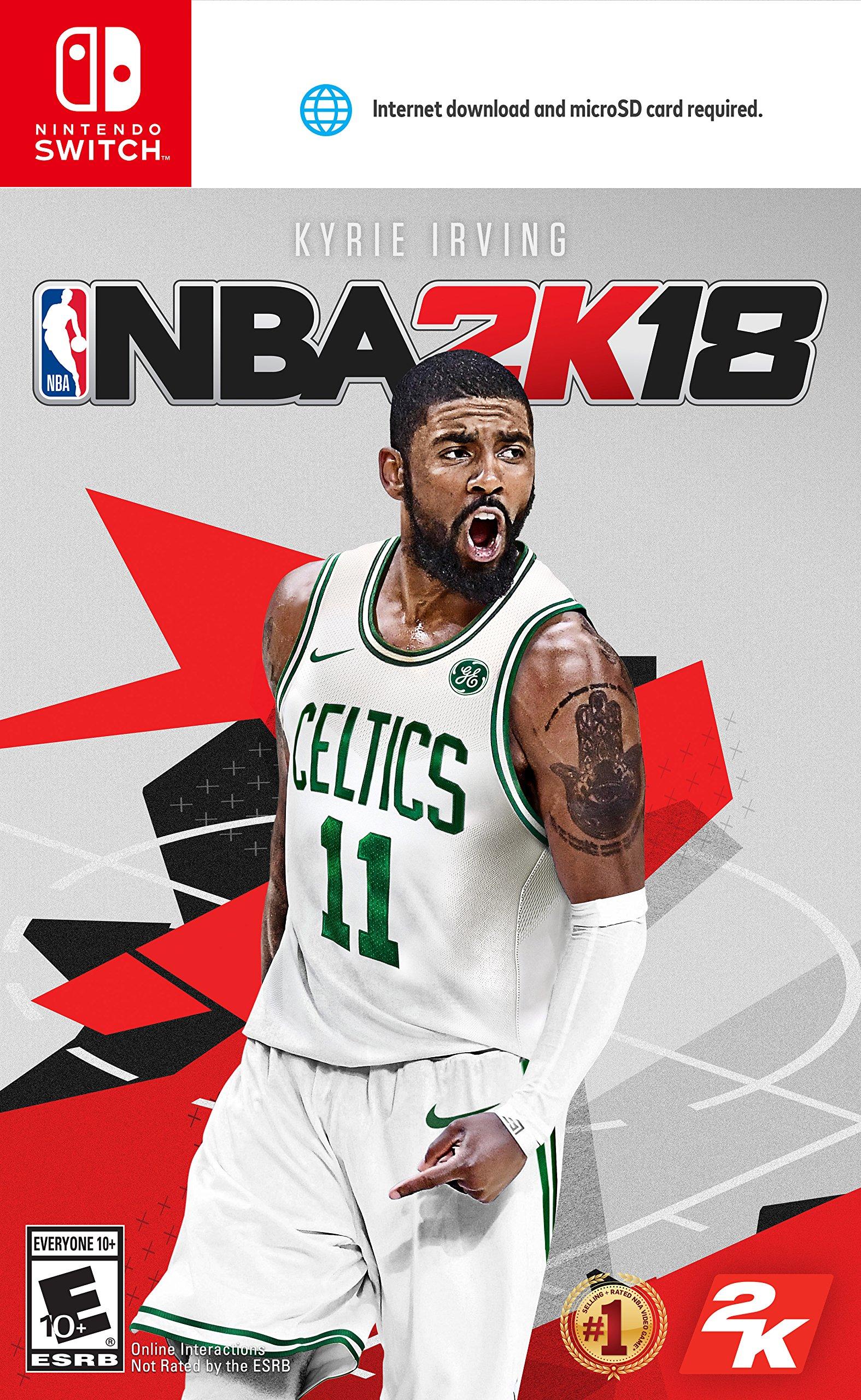Amazon com: NBA 2K18 - Nintendo Switch [Digital Code]: Video Games