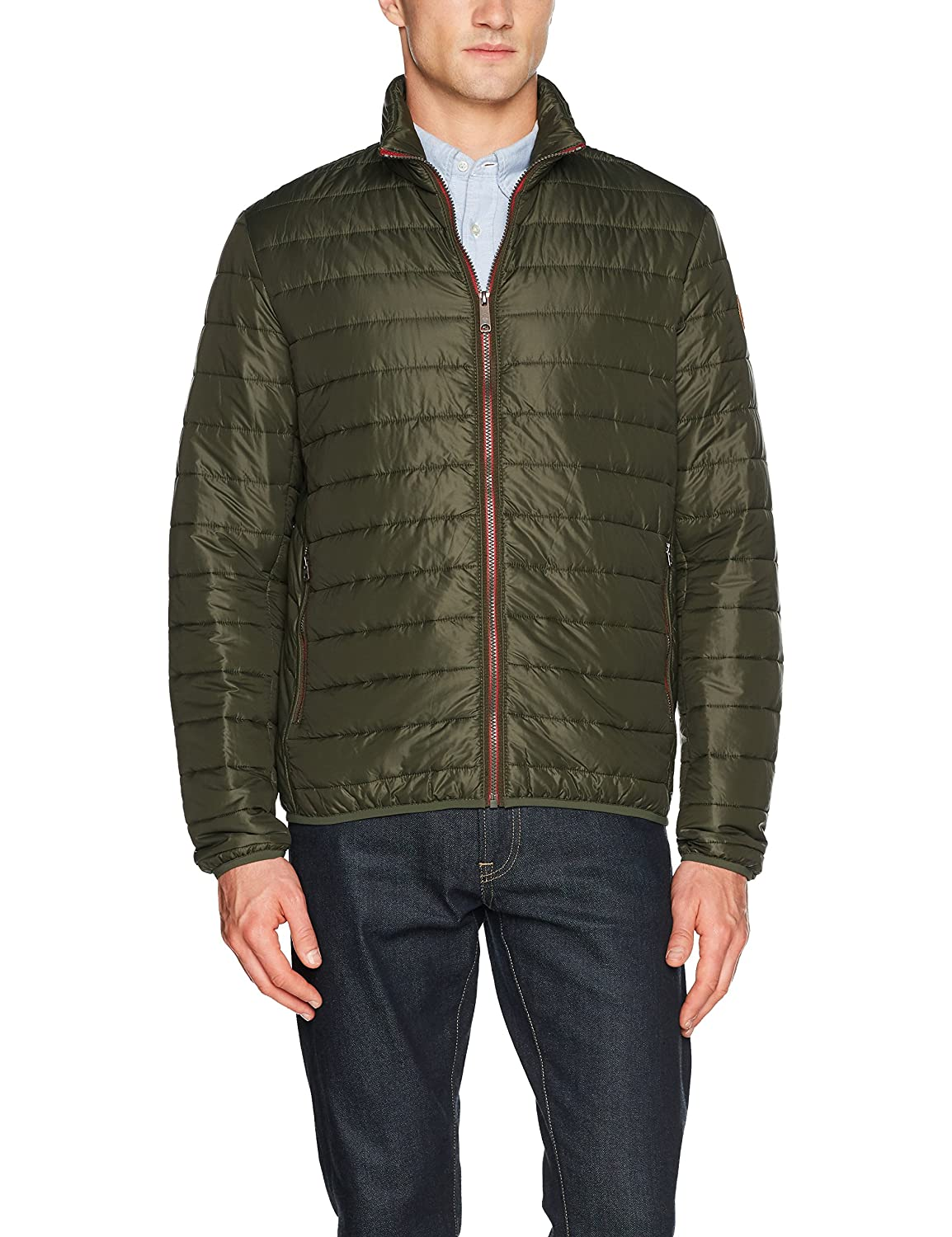 TALLA L. Timberland Milford Quilted Jack Tim Chaqueta para Hombre