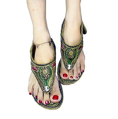 Jutti Jaipuri Art Girls Great Women Mojari A Rajasthani Sandals And HWD29IE