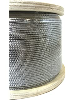 1//16 7x19 Stainless Steel Aircraft Cable T304 250 Reel Lexco Cable