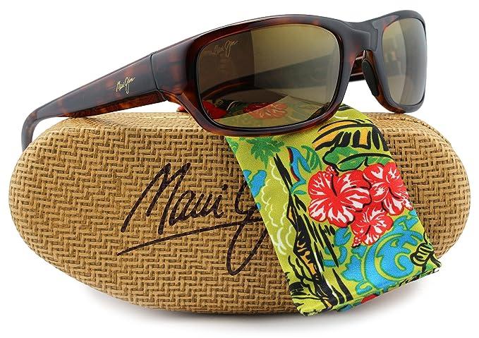 ca7411869b Image Unavailable. Image not available for. Colour  Maui Jim MJ-103-10  Stingray Sunglasses Tortoise ...