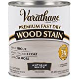 Varathane 297424 Premium Fast Dry Wood Stain, Quart, Antique White