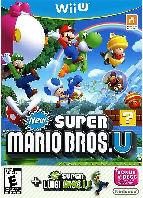 Nintendo New Super Mario Bros. U + New Super Luigi U Bundle, Wii U Básico + complemento Wii U vídeo - Juego (Wii U, Wii U, Plataforma, Modo multijugador, E (para todos)):