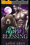 Alpha's Blessing: An M/M Shifter MPreg Romance (Texas Heat Book 3)
