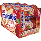 Mentos Pure Fresh Sugar-Free Chewing Gum with Xylitol, Honeycrisp Apple, Halloween Candy, Bulk, 50 Piece Bottle (Pack of…