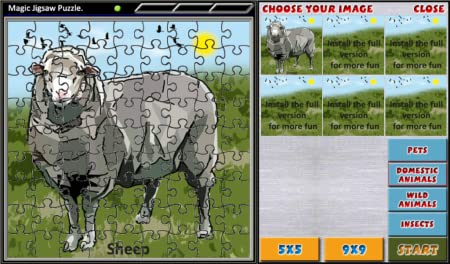 Magic Jigsaw Puzzle Free