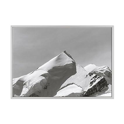 Conkrea Listo Lienzo Marco Canvas Ansel Sobre Para Colgar Montagne HWIED2Y9