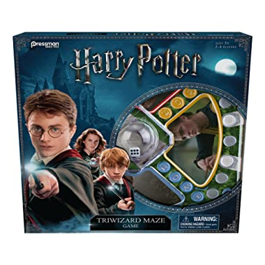 Pressman 4331-06 Harry Potter Triwizard Maze Game, 5 , Basic Pack