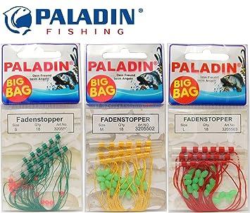L Schnur-Stopper Gr Paladin BIG BAG 18 Fadenstopper//Textilstopper mit Perlen