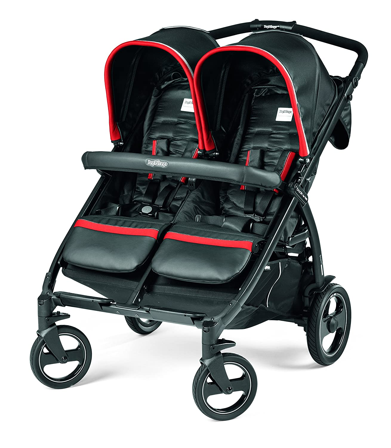 Peg Perego Book for Two Baby Stroller, Synergy