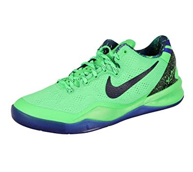 cheap for discount f0e09 8d199 Amazon.com   Nike Kid s Kobe 8 GS Basketball Shoes 7Y M US Poison Green  Hyper Blue   Basketball