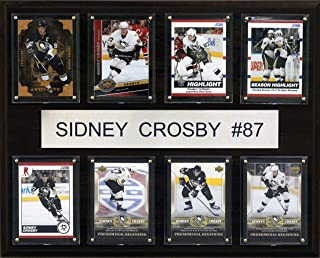 product image for NHL Sidney Crosby Pittsburgh Penguins 8 Card Plaque