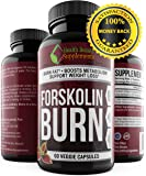 * MEGA FORSKOLIN BURN * Most Proven Forskolin Supplement - Maximum Potency - Maximum Weight Loss Results - Top Rated Natural Supplement - perdida de peso rapido - Forskolin Extract For Weight loss