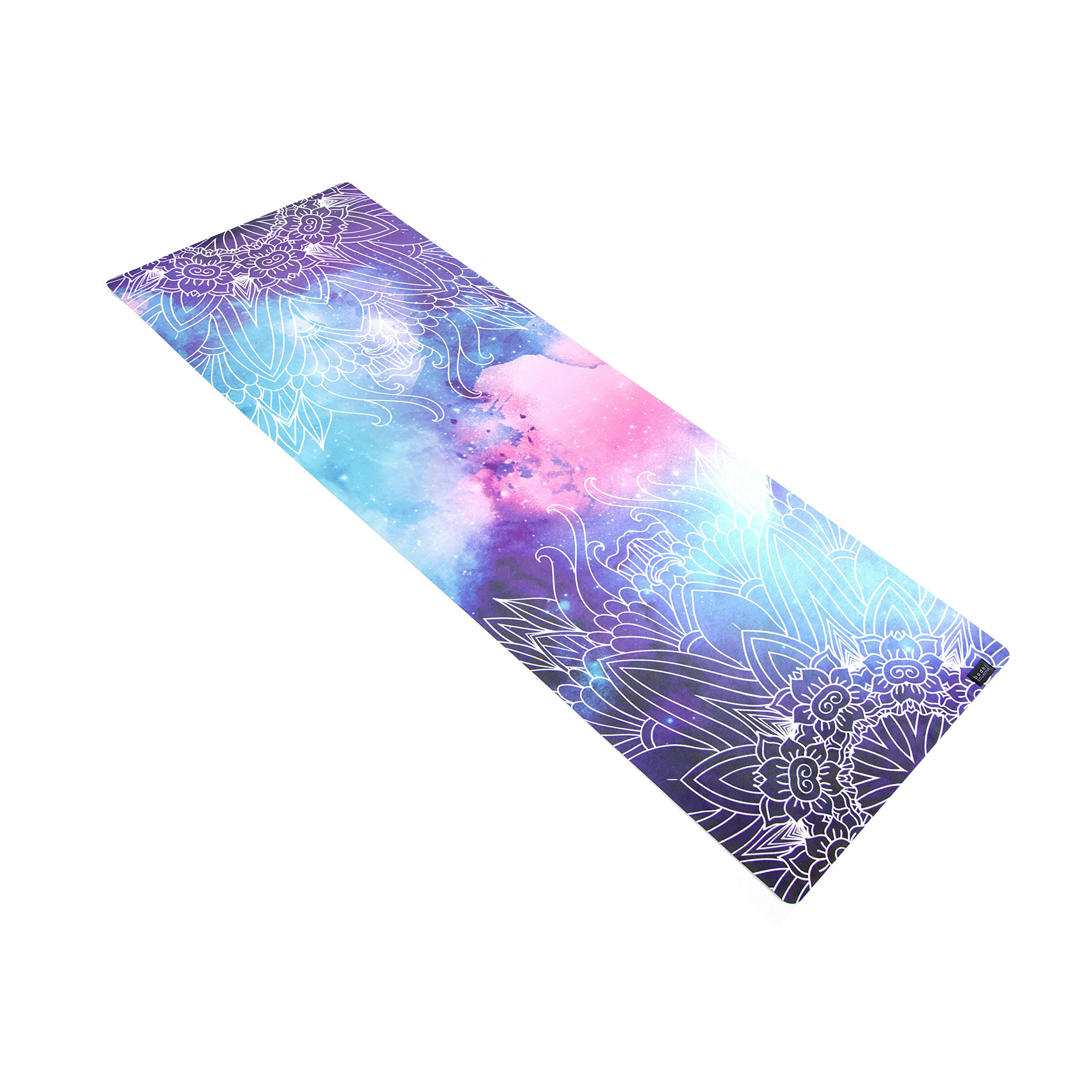 Bodhi Collective MERAKI Luxe Printed Yoga Mat   Premium Eco Friendly Natural Rubber & Soft Suede by Bodhi Collective (Image #2)
