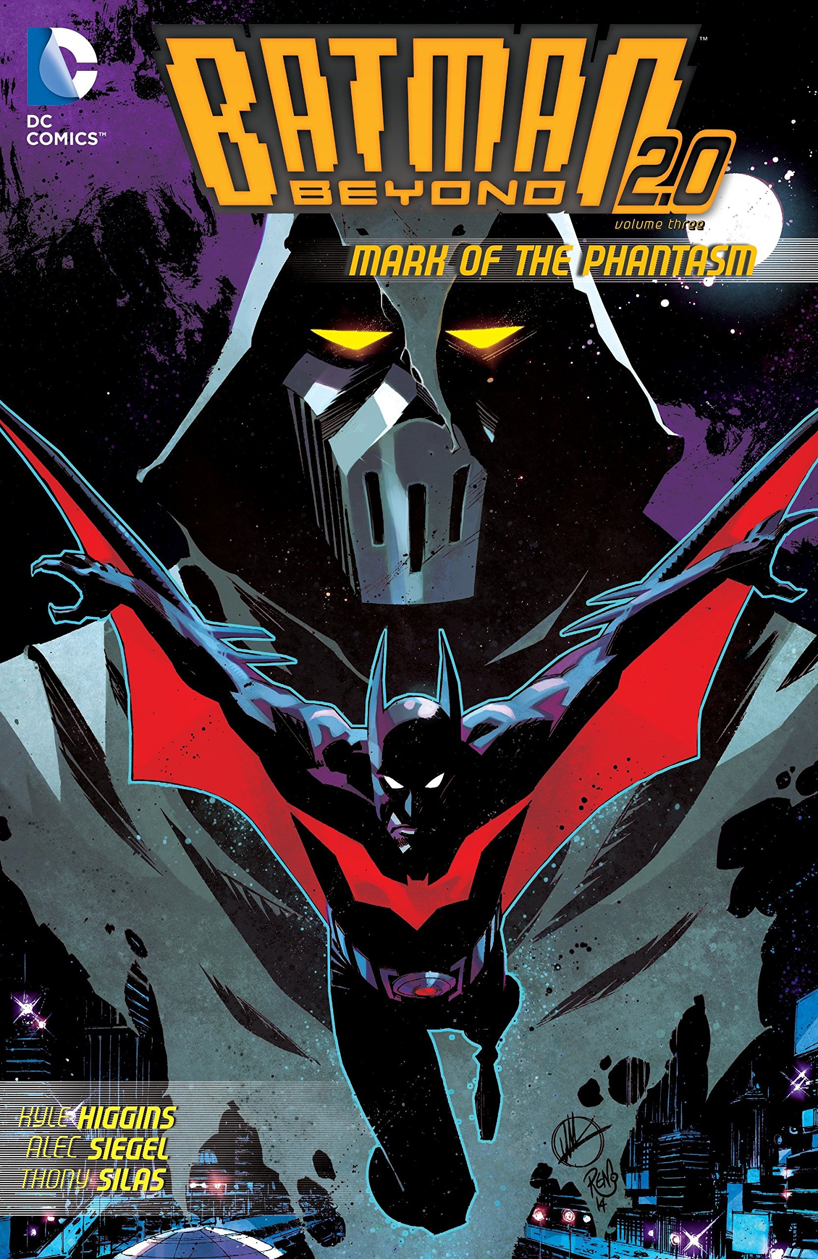 Batman beyond 2 0 vol 3 mark of the phantasm kyle higgins thony silas phil hester 9781401258016 amazon com books