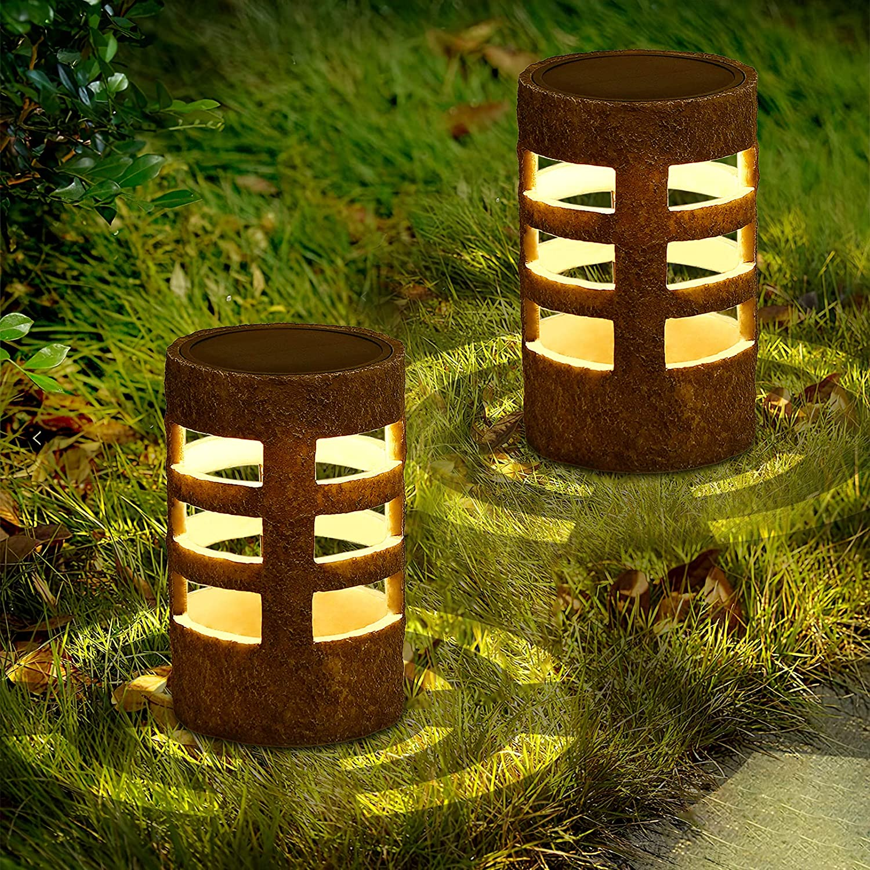 Solar Lantern Lights LED Outdoor Decor Garden Light