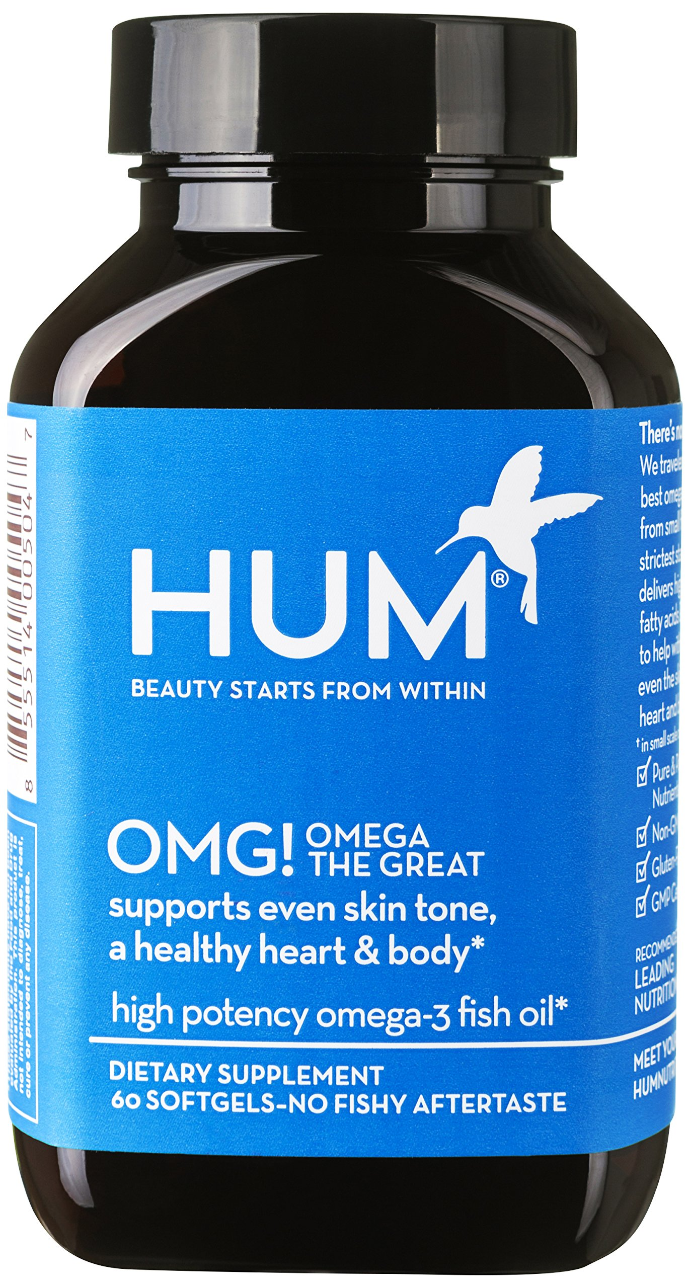 Amazon Com Hum Nutrition Daily Cleanse 60 Vegan