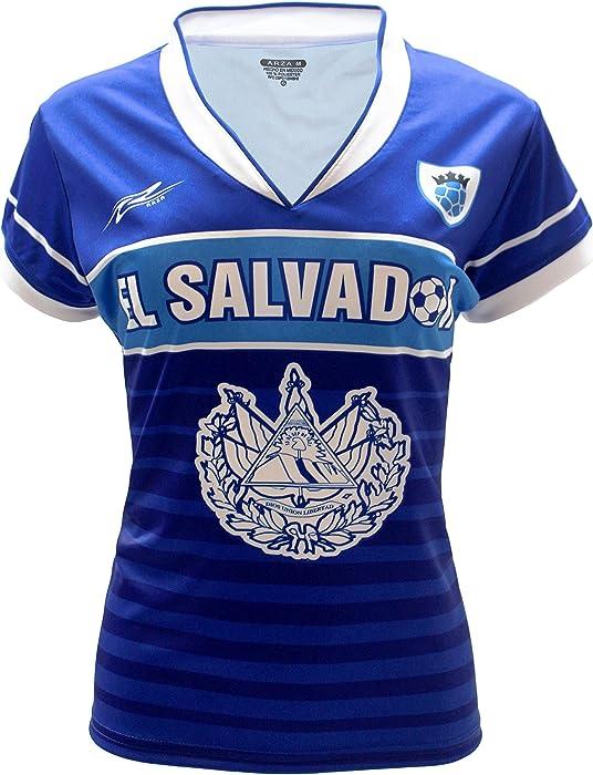 4dc868254 Amazon.com  Arza Sports El Salvador Women Soccer Jersey (Small