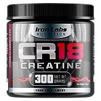 CR18 CREATINE - The Creatine Monohydrate Drink   6,000mg Creatine Monohydrate per Serving   Red Cherry Flavour   Includes Alpha Lipoic Acid   300 grams