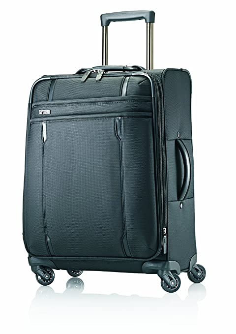 Hartmann Lineaire Carry On Spinner, Black, One Size