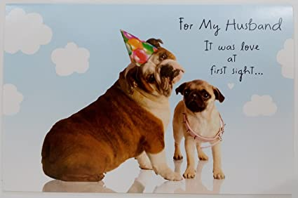 Amazon For My Husband Happy Birthday Greeting Card