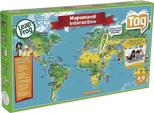 LeapFrog Cefa 00621 - Mapamundi Interactivo (Tag): Amazon.es: Juguetes y juegos