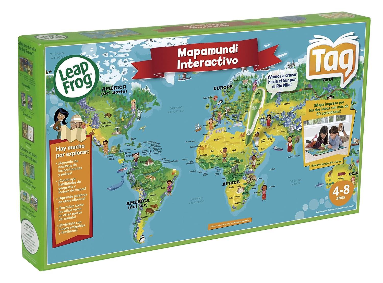 Cefa 00621  Mapamundi Interactivo Tag Amazones Juguetes y juegos