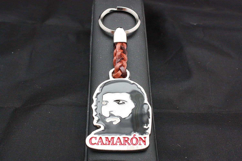 Llavero Cuero trenzado Camarón en Zamak Cromado y Esmaltado ...